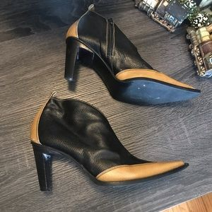 BEBE 🇮🇹 Western Cowboy Booties Ankle Boots